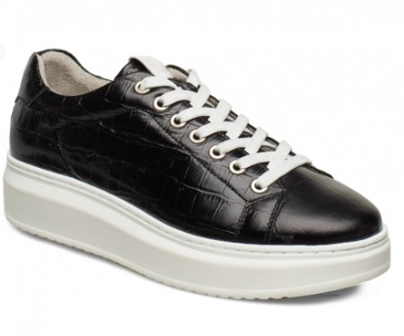 Sort Tamaris Croco Sneaker