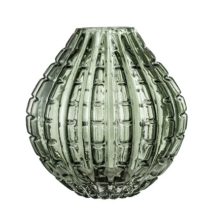 Grønn Bloomingville Glass Vase