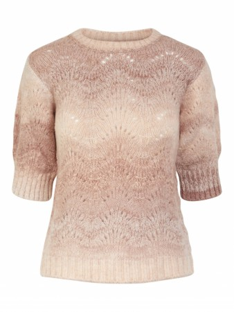 Rosa Yas Yasleon Ss Knit Pullover