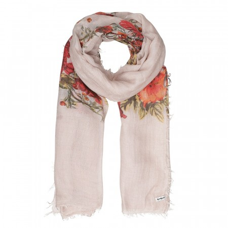 Natur Tif  & Tiffy Flower Bed Scarf Skjerf